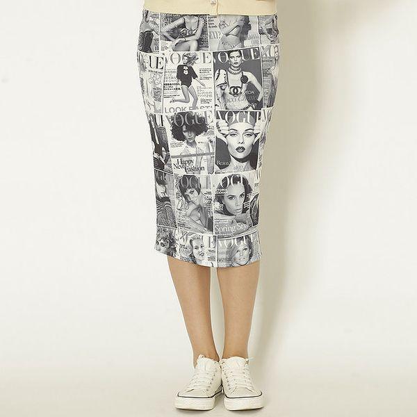 Dámská sukně s Vogue potiskem Chaser