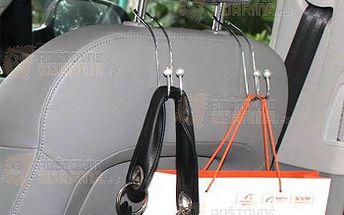 Univerzální kovový držák na tašky do auta a poštovné ZDARMA! - 27413579