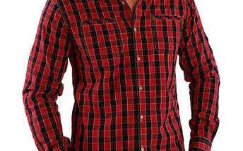 Pánská kostičkovaná košile Premium Company