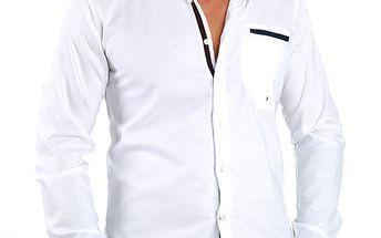 Pánská bílá košile Premium Company