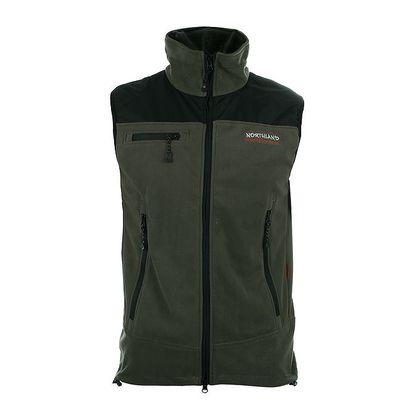 Pánská zelená fleecová vesta Northland Professional