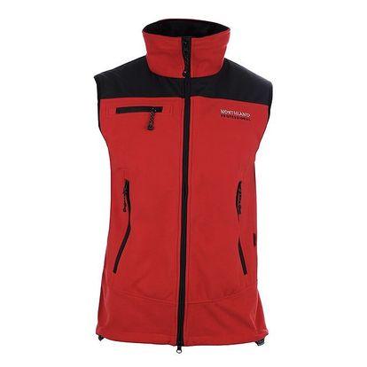 Pánská červená fleecová vesta Northland Professional