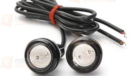 3 W LED světla pro denní svícení (eagle eye) - 2 kusy, 4 barvy světla a poštovné ZDARMA! - 27513529
