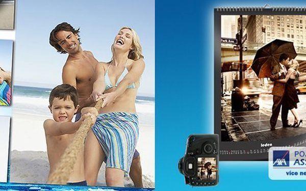 Nástěnný kalendář z Vašich fotografií! Dva rozměry, skvělá cena!! Sami si vytvořte ten svůj a radujte se z něj celý rok!