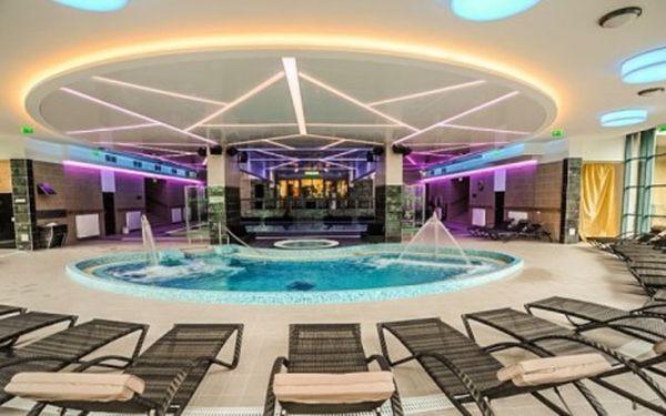 Královský wellness pobyt pro dva v nádherném 4* hotelu v Egeru s wellness neomezeně