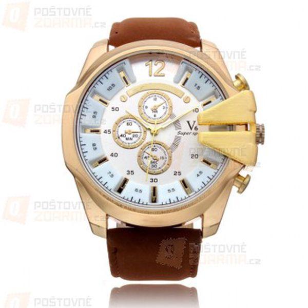 Pánské hodinky - 4 barevná provedení a poštovné ZDARMA! - 27513450