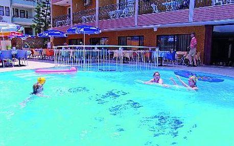 Turecko, oblast Alanya, letecky, all Inclusive, ubytování v 3* hotelu na 11 dní