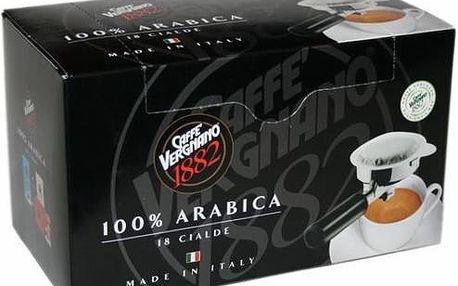 Vergnano 100% Arabica pody 4 x 18 ks