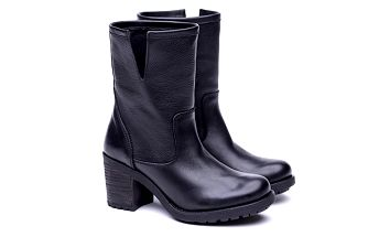 Dámské černé kozačky Shoe the Bear