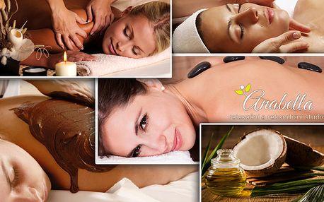45 minutová masáž nebo permanentka na 3 masáže dle výběru