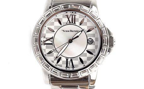 Dámské hodinky stříbrné barvy Yves Bertelin