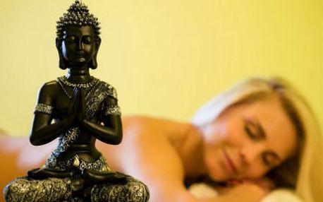 Harmonizující Ájurvédská masáž s relaxací se slevou 75 %