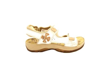 Dámské bílé sandály Numero Uno