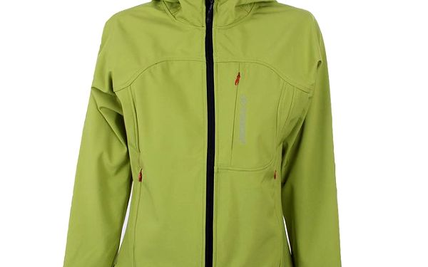 Dámská zelená softshellová bunda Trimm Berga