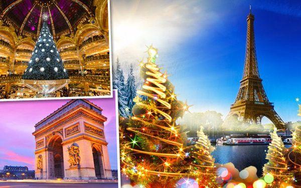 Nenechte si ujít adventní Paříž