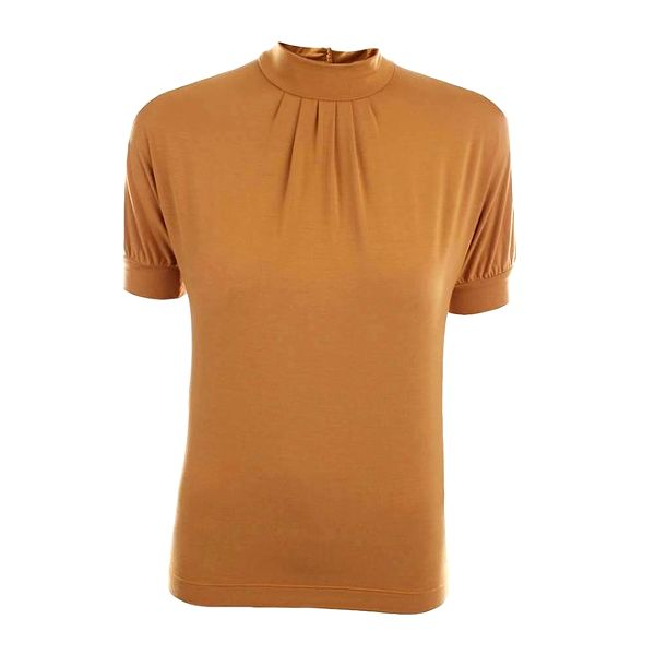Dámské tričko v okrové barvě Pietro Filipi