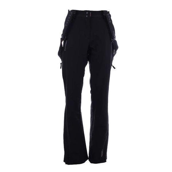 Dámské černé softshellové lyžařské kalhoty Envy