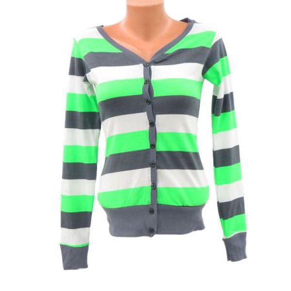 Dámský svetřík Miss Amor zelená