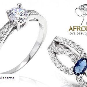 Dámské prsteny se zirkony Afrodite