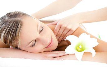 Nechte se hýčkat: Rehabilitační masáž či aromaterapie? 30 min již od 95 Kč!