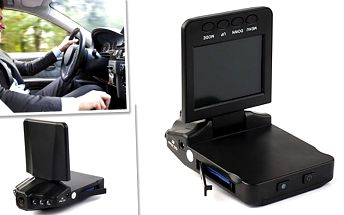 Záznamová kamera do auta HD se slevou!
