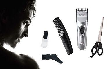 Pánský zastřihovač vlasů Sinbo a vousů s příslušenstvím