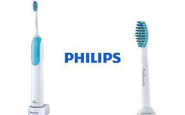 Zdravé a čisté zuby s kartáčkem Philips HX3120 Sonicare Power Up