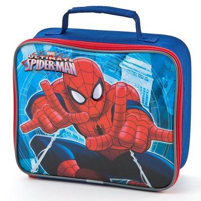 POLAR GEAR - chladící taška- box na svačinu - Spiderman