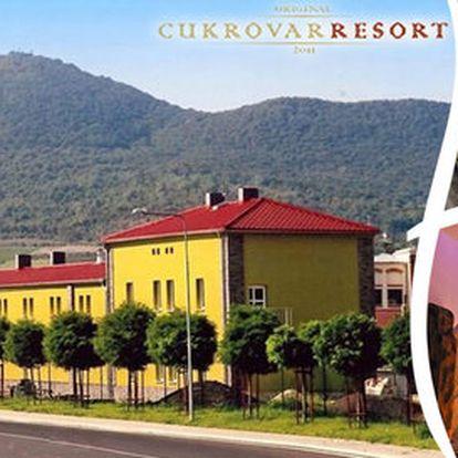 Luxusní relax v Resortu Cukrovar v Lovosicích