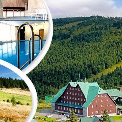 Aktivní podzim a turistika v Jeseníkách pro dva