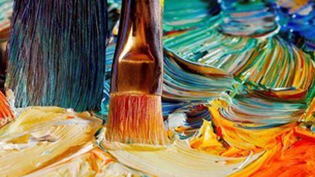 Olej či akryl na zkoušku - individuální 2hodinový kurz pro 1 osobu