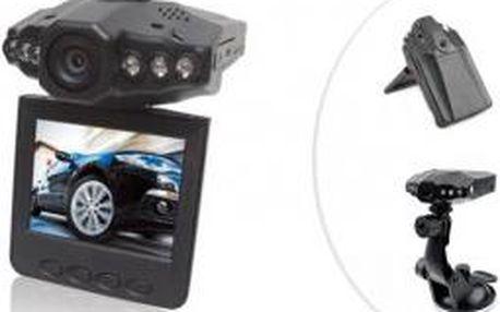Mini HD kamera do auta s nočním viděním