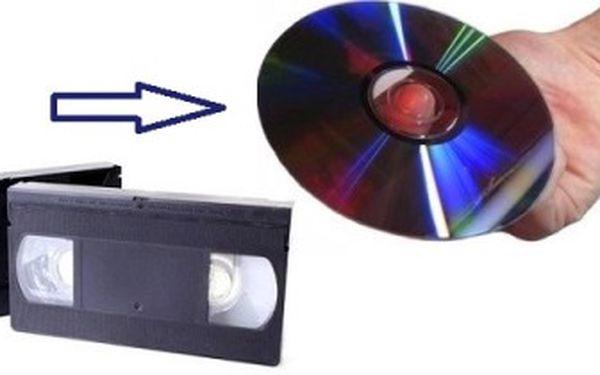 Převod záznamů z videokazet VHS, VHS-C, 8mm atd. na DVD disky. Uchovejte si vzácné životní události.