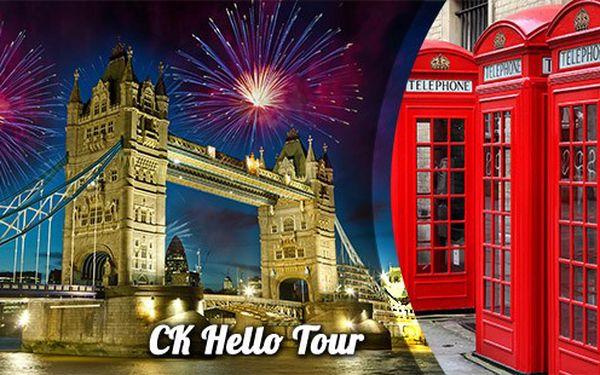 Silvestr v Londýně za 4999 Kč – 5denní autokarový zájezd s hotelem IBIS a s návštěvou Oxfordu! Velkolepé oslavy ve vánočním Londýně jsou zážitek na celý život! Tradiční HIT CK Hello Tour. Nyní záloha 1500,- Kč.