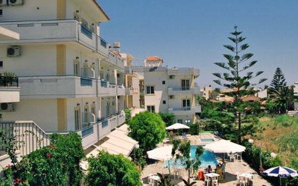Řecko, oblast Kréta, letecky, snídaně, ubytování v 3* hotelu na 8 dní