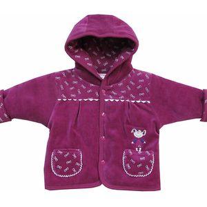 Fialový kabátek