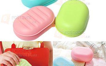 Cestovní pouzdro na mýdlo či jiné drobnosti - různé barvy a poštovné ZDARMA! - 28113739
