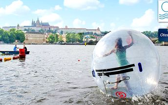 Waterzorbing Prague