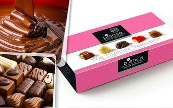 Belgické čokoládové pralinky
