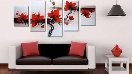 Ručně malované 4 nebo 5dílné obrazy
