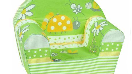 Křesílko zelený brouček