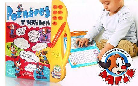 Elektronická mluvící kniha pro děti Poznávej s Pafíkem
