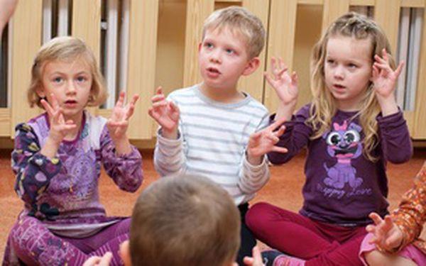 Angličtina pro děti od 3 - 5 let