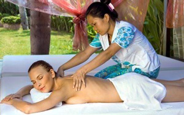 Tradiční THAJSKÁ MASÁŽ. 60 minut protažení a dokonalé relaxace. Tip na dárek pro ženy i muže.