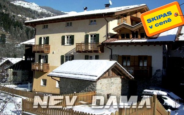 Apt. dům Casa Margherite, Marilleva / Folgarida, Itálie, vlastní doprava, bez stravy