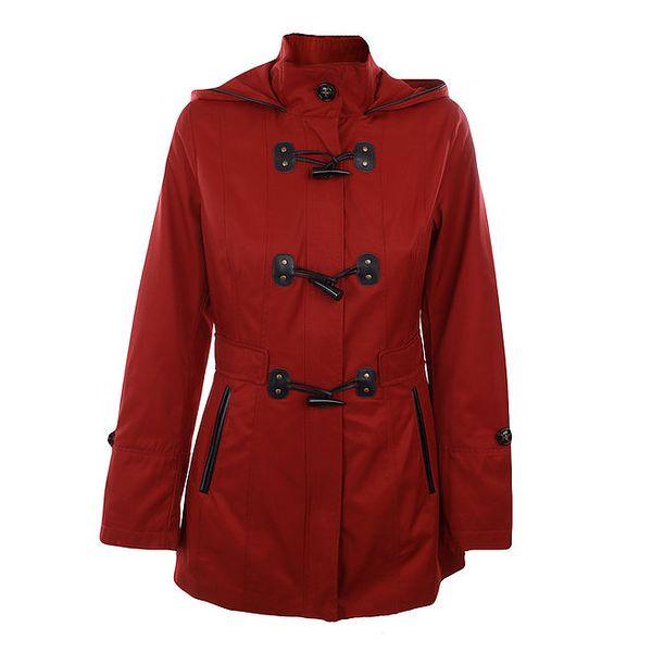 Dámský červený krátký kabát Halifax