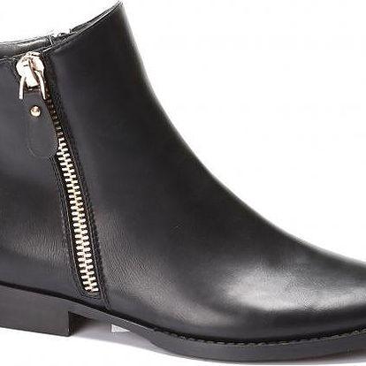 Dámské kotníkové boty Best 710 černé