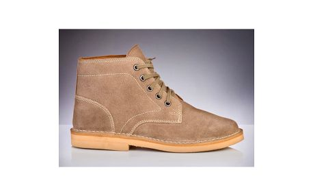 Pánské béžové kotníčkové boty Roamers