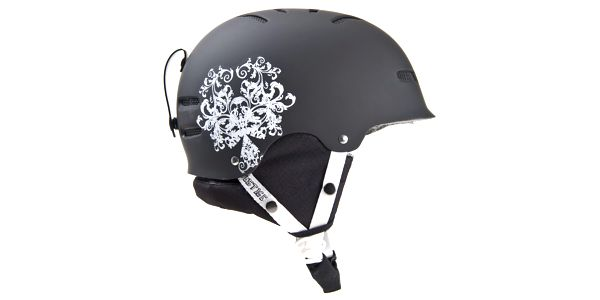 Špičková dámská snowboardová a lyžařská helma GRAFITTO