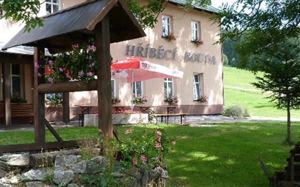 Romantický pobyt v Krkonoších pro DVA na 3 dny s polopenzí a saunou